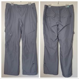 Eddie Bauer Gray Lined Cargo Pant 12 Tall